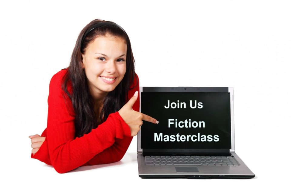 Fiction masterclass ..join us