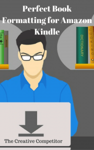 Book formatting for Kindle