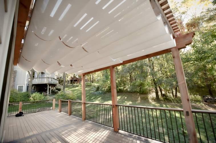 Kansas City Deck & Plergola design by Creative Concepts & Design, LLC