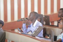 Question time during the interactive session