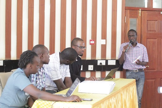 James during the interactive session with the panel
