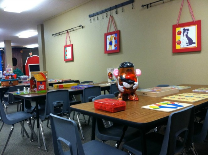 Awana Cubbie Classroom