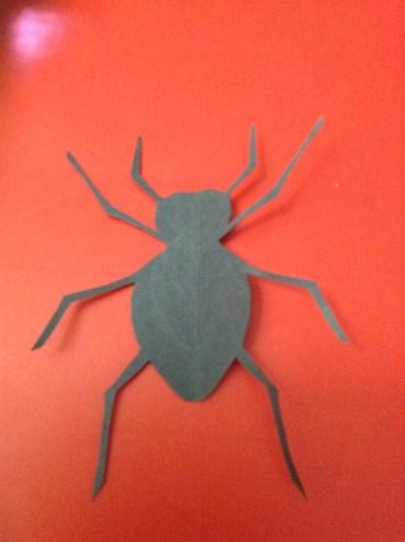 diy paper spider