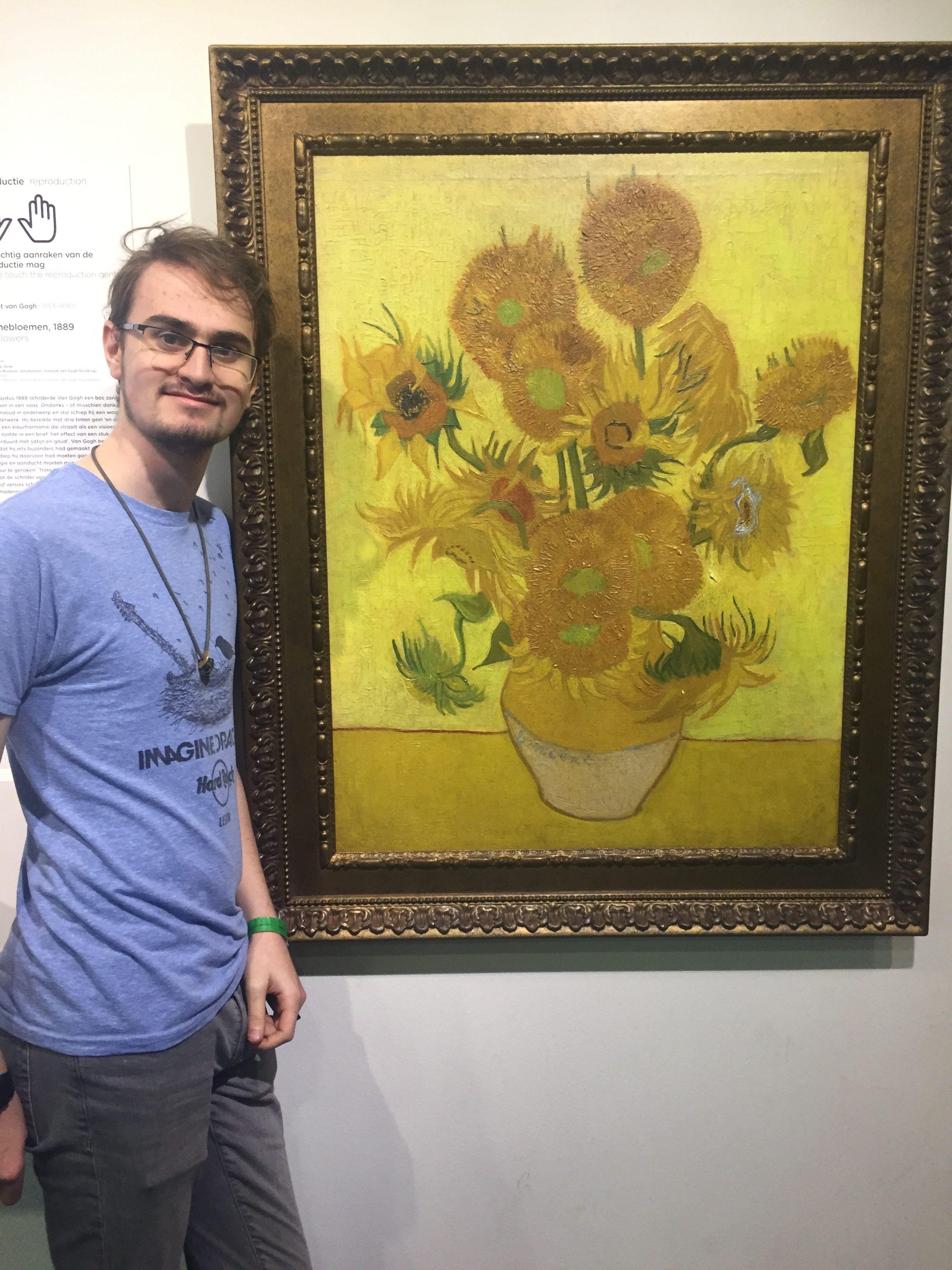 Amsterdam-Trip-Van-Gogh-Sunflowers
