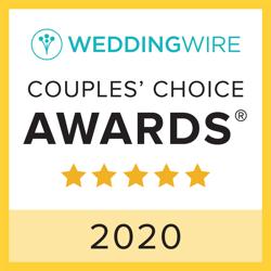 2020 Wedding Wire 2020 Award