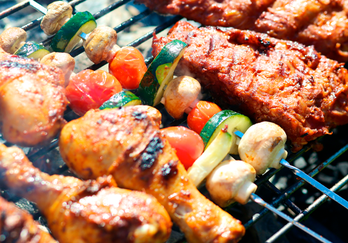 grilled picnic