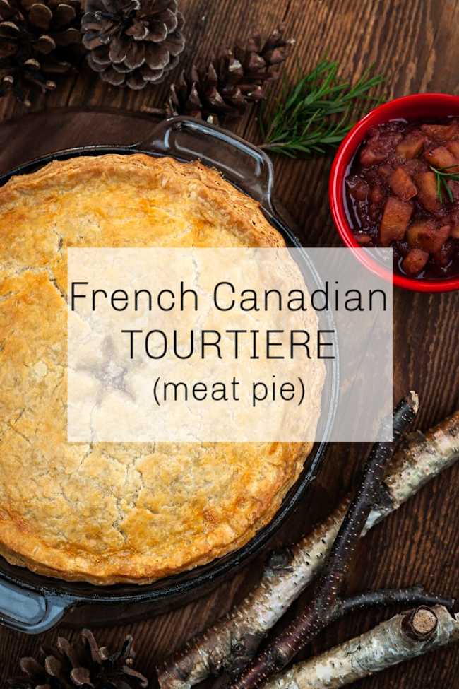 French Canadian Tourtiere Meat Pie Recipe