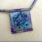 Paper Beads and Pendant