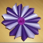 The 24 Days of Holiday Crafting Continues: Paper Starburst Ornament