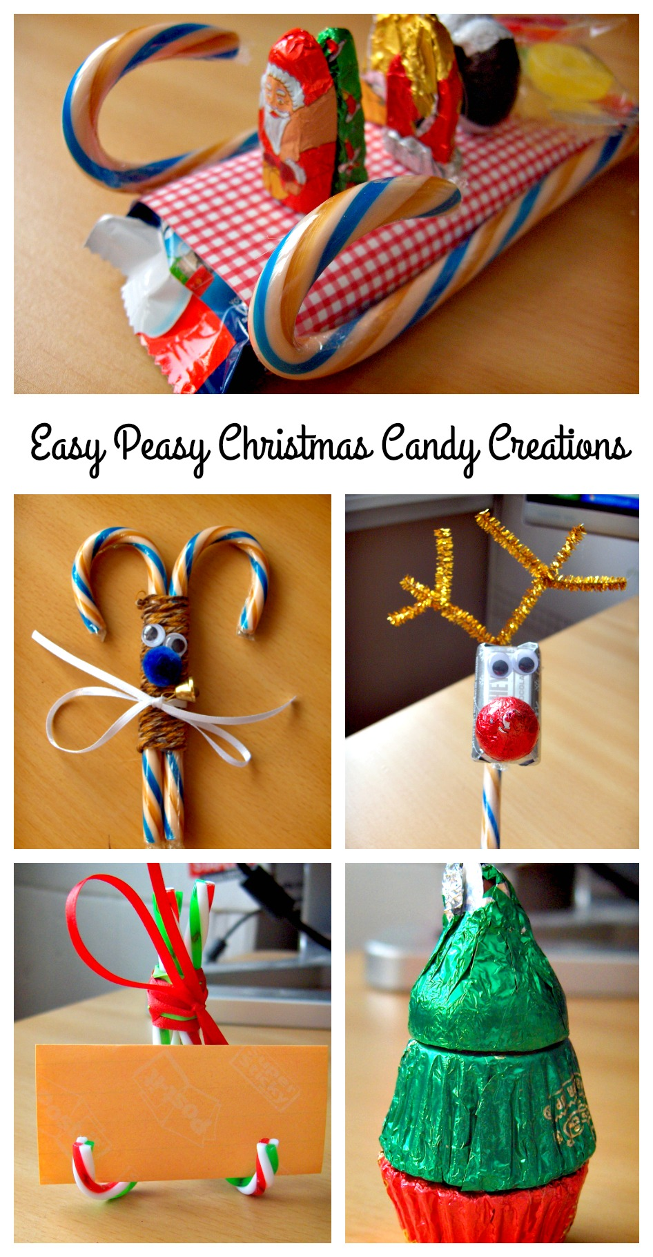 Easy Peasy Christmas Candy Creations You Can Make For The