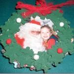 Wreath Photo Frame