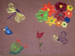 WIP It Wednesday:  Paper Quilling