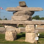 Wordless Wednesday: Inuksuk Down the Road From Me