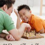 31 Days of Family Fun:  Game Night