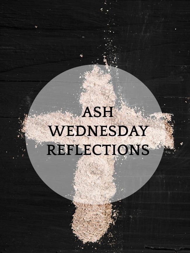 Ash Wednesday Reflections - Creative Cynchronicity