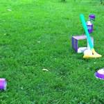 Guest Post on White House, Black Shutters: Backyard Mini Golf