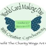 Creative Cynchronicity Live World Cardmaking Day 2012 Online Event