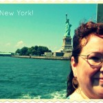 Wordless Wednesday:  First Time Seeing Statue of Liberty