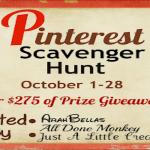 Pinterest Scavenger Hunt: Day 17