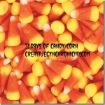 31 Days of Candy Corn: Day 6:  Candy Corn Popcorn in Cones