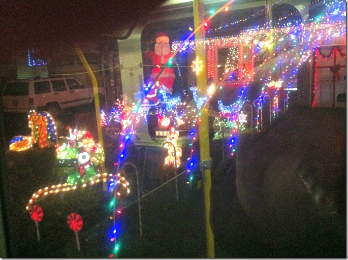 Christmas Light Display Bus Tour in London Ontario CreativeCynchronicity.com