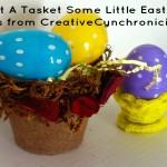 Video Tutorial: Little Easter Baskets