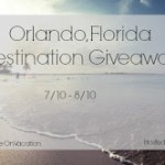 Blogger Opportunity: Orlando Florida Giveaway