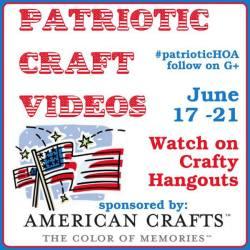 Crafty Hangouts: Patriotic Crafts