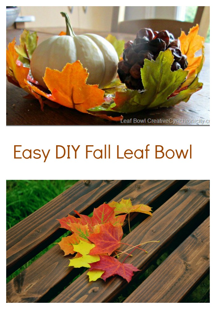 fall craft make a fall leaf bowl for thanksgiving