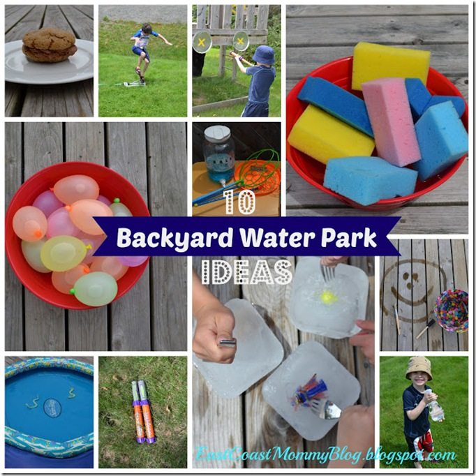 DIY Backyard Water Park