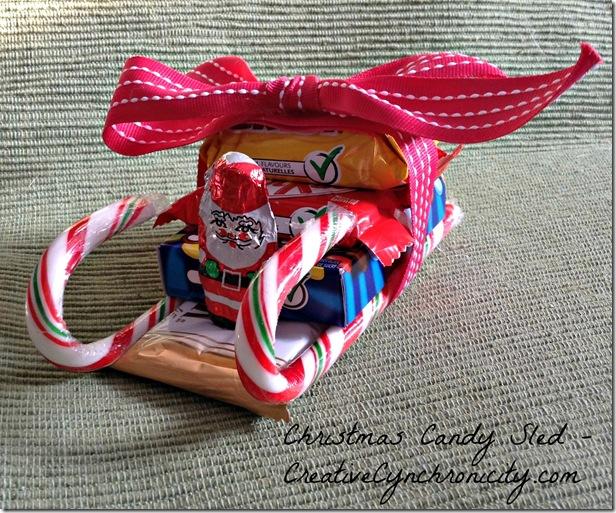 christmas candy sled creative cynchronicity - Candy Sleighs For Christmas