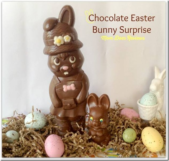 chocolate easter bunny surprise