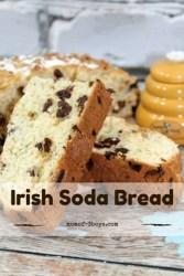 Irish Soda Bread {12 Days of St. Patrick's Day Treats and Crafts}
