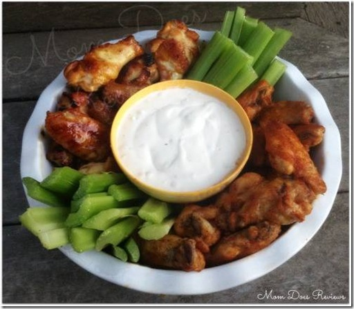 Delicious hot wings appetizer recipe