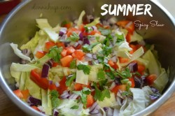 Summer Spicy Slaw {12 Days of BBQ and Picnic Ideas}