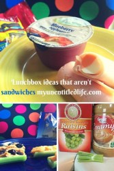 Lunch Box Ideas That Aren't Sandwiches {#12DaysOf School Lunches}