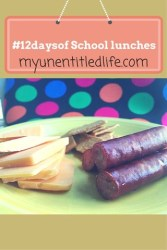 Making Lunches without Bread {12 Days of School Lunches}