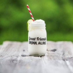 Key Lime Fizz Cocktail