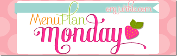 Menu Plan Monday - great ideas for a week's worth of easy and economical meals