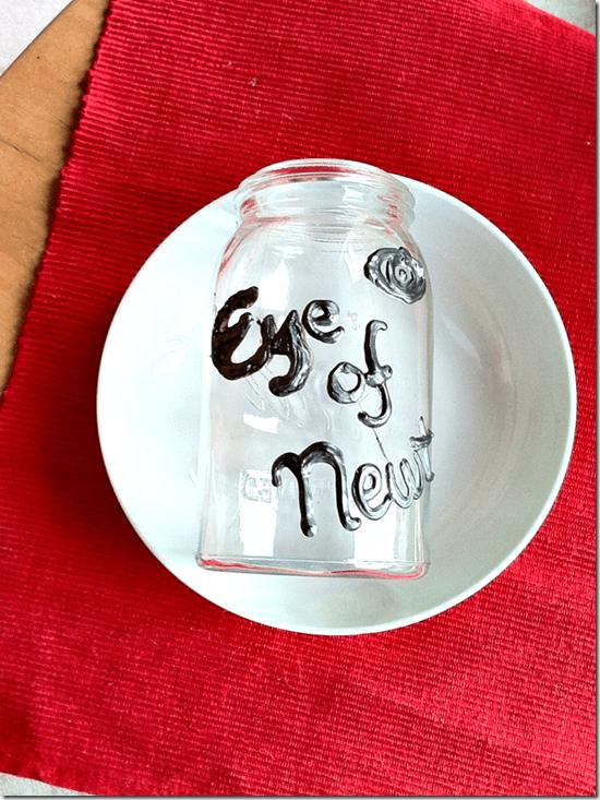 eye of newt halloween jar