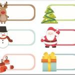 Free Christmas Printable Labels