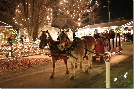 Overly's Country Christmas Carriage Ride_Credit Laurel Highlands Visitors Bureau