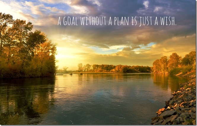 a goal without a plan