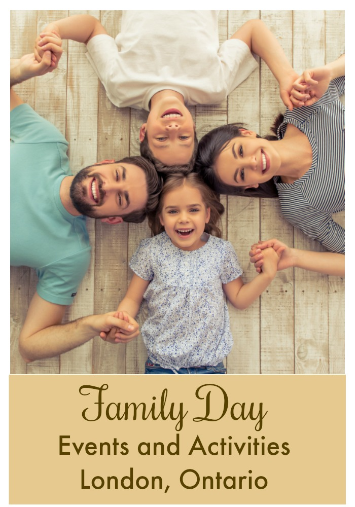 Family Day activities in London Ontario