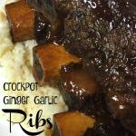 Slow Cooker Ginger Garlic Ribs Recipe