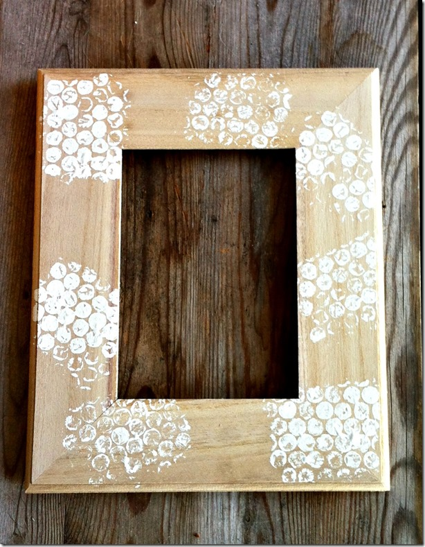 DIY Gift for Dad: Father Daughter Photo Frame - Creative Cynchronicity