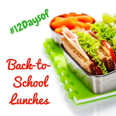 12 Days of Back to School Lunches
