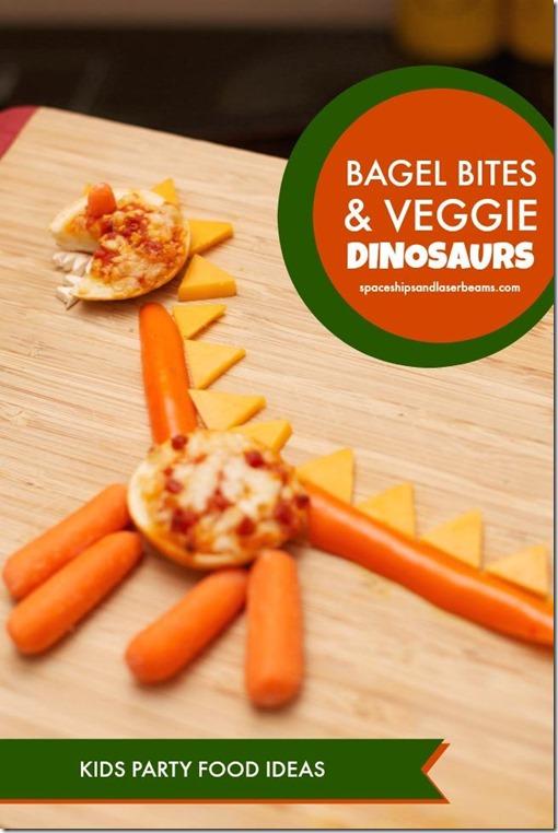 bagel bites dinosaurs