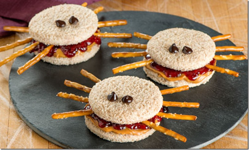 pb and j spiders