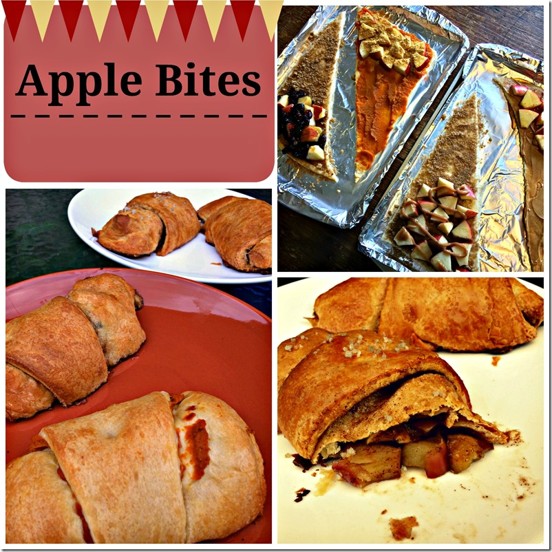 apple bites - really quick and easy recipe with the great taste of autumn